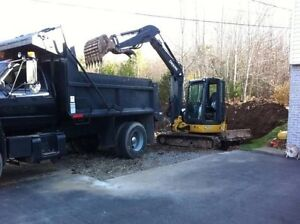 **Excavation and Skid Steer services, additions, drainage, etc**