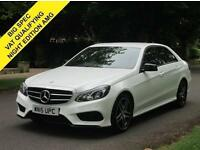 2015 15 MERCEDES-BENZ E CLASS 2.1 E220 BLUETEC AMG NIGHT EDITION 4D AUTO 174 BHP