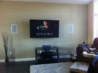 Want your TV wall mounted? Wall Mount / Hidden Wires / Licensed