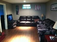 Newer renos 1 bedroom basement suite east side available Sept 1