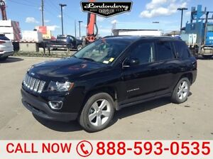 2016 Jeep Compass 4WD HIGH ALTITUDE Accident Free,  Leather,  He