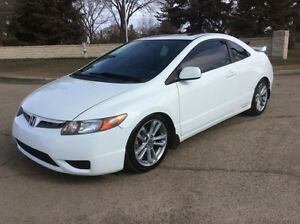 2007 Honda Civic, SI, 6/SPD, LOADED, ROOF, 151K, $8,500