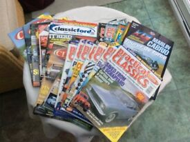 Assorted car magazines