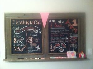 Menus, Menu boards , Chalkboards..... Any size you want! Oakville / Halton Region Toronto (GTA) image 6