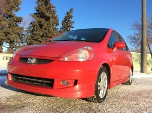 2007 Honda Fit, S-PKG, 5/SPD, FULLY LOADED, SUPER ON GAS!