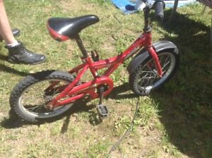 Little red bike. In good condition. Only $10 or .....