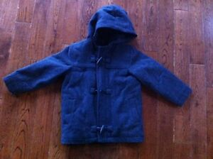 Girls Size 5T - Old Navy - Charcoal Grey Wool Coat