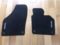 VW Tiguan Genuine front mats (63 plate)