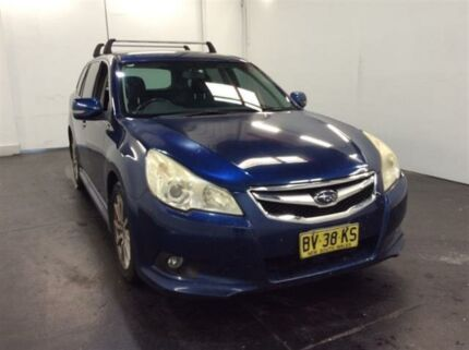 2010 Subaru Liberty MY10 2.5I Blue Continuous Variable Wagon Cardiff Lake Macquarie Area Preview