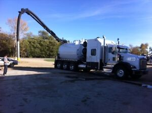 Foremost SVS2000 Kenworth T800B tridem hydrovac