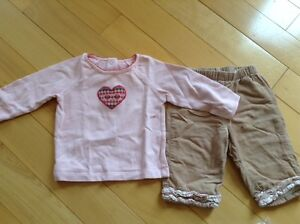 Girls size 3-6 months janie and jack outfits EUC London Ontario image 1