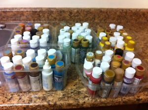 Boatload of acrylic paints, $1 each