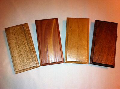 Solid Wood Base for Morse Code/Telegraph Key