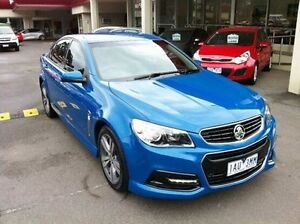 2013 Holden Commodore VF MY14 SV6 Blue 6 Speed Sports Automatic Sedan Berwick Casey Area Preview