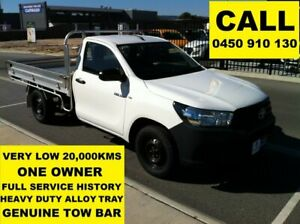 2015 Toyota Hilux TGN121R Workmate Glacier White 5 Speed Manual Cab Chassis Ellenbrook Swan Area Preview