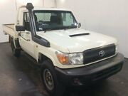 2012 Toyota Landcruiser VDJ79R 09 Upgrade Workmate (4x4) White 5 Speed Manual Cab Chassis Cardiff Lake Macquarie Area Preview