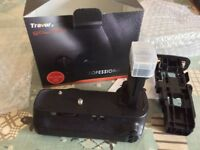 Canon EOS 6D 3rd Party Battery Grip made by Travor, Brand New