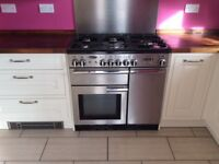 Range cooker, gas hob, gas grill, gas oven, electric oven