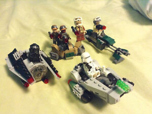 ASSORTED LEGO STAR WARS 2017 SETS! PRICE FOR 3! 6 MINIFIGS!