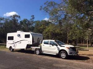 2014 Southern Cross  Fifth Wheeler plus  2012  Mazda BT 50 GT Forster Great Lakes Area Preview