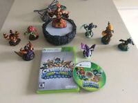 Xbox 360 Skylanders Swap Force-portail-8 figurines-50$