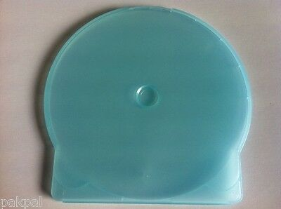10 New Light Blue Clamshell C Shell CD Cases, JS104USA-1012 FREE SHIPPING