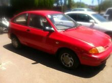 1996 Ford Festiva WB Trio 5 Speed Manual Hatchback Para Hills West Salisbury Area Preview