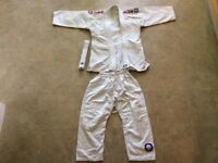 Judo suit with belt 140cm