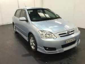 2006 Toyota Corolla ZZE122R 5Y Levin Blue 5 Speed Manual Hatchback Cardiff Lake Macquarie Area Preview