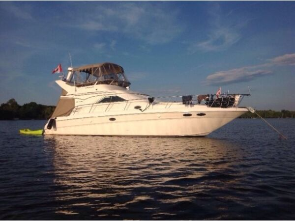 Used 1998 Sea Ray Boats Sea Ray flybridge sedan 400