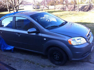 2007 Chevrolet Aveo Sedan for parts or repair- NEEDS TO GO ASAP