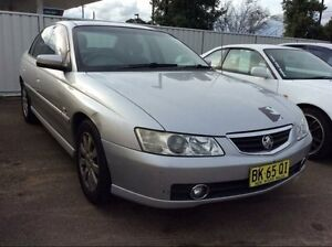 2004 Holden Berlina II Silver Automatic Sedan Lansvale Liverpool Area Preview