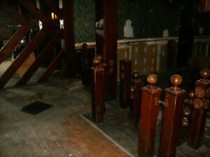 Wooden Posts From Around York Tavern Lighted Dance Floor$25each Kawartha Lakes Peterborough Area image 3