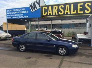 2002 Holden Commodore LPG Blue Automatic Sedan Lansvale Liverpool Area Preview