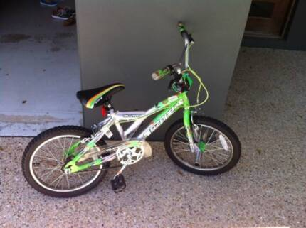 Green and grey used Ozone bike. Indooroopilly Brisbane South West Preview