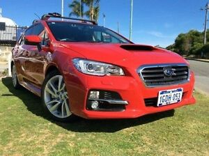 2016 Subaru Levorg V1 MY17 2.0GT CVT AWD Red 8 Speed Constant Variable Wagon Mandurah Mandurah Area Preview