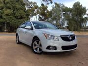 2014 Holden Cruze JH Series II MY14 Equipe White 6 Speed Sports Automatic Sedan Elizabeth Playford Area Preview