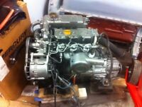 Yanmar 3GM30F marine engine & Kanzaki transmission