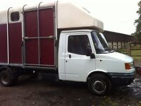 LDV Horsebox. 2.5 Ford Diesel Engine. Ifor Williams Container. New MOT in March, no advisories