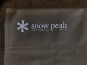 Snow Peak High Tension Cot for sale - like new $375 CAD
