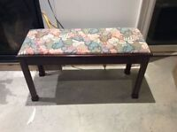 Piano bench with storage