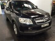 2009 Holden Captiva CG MY09 CX (4x4) Black 5 Speed Automatic Wagon Cardiff Lake Macquarie Area Preview