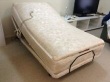 Electric adjustable single bed with massager Manly West Brisbane South East Preview