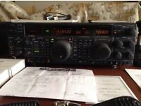 Yaesu FT -1000 MP MARK - V 200 W, owned from new (2005) excellent condition
