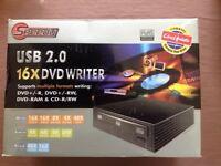 SPEEDY USB 2.0 16x DVD writer.