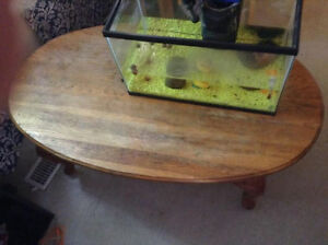 soild wood coffee table