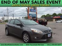 2012 Ford Focus! Great Deal! WE FINANCE EVERYONE! Windsor Region Ontario Preview