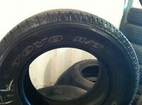 265/65r17 TOYO OPEN COUNTRY 10/30 $350.00 LES 4 PNEUS