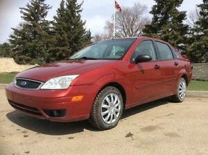 2005 Ford Focus, ZX4, AUTO, LEATHER, ROOF, 142k, $4,500