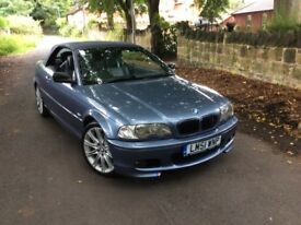 BMW 3 SERIES 3.0 330CI 2DR (blue) 2001